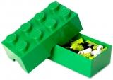 Cutie sandwich 40231734 LEGO 2x4 verde inchis