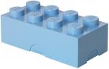 Cutie sandwich 40231736 LEGO 2x4 albastru deschis