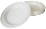 Farfurii adanci unica folosinta plastic 20.5 cm 100 buc/set