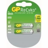 Acumulator R3 (AAA), NiMh 850 mAh 2/set Recyko GP