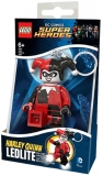 Breloc cu lanterna Harley Quinn LGL-KE81 LEGO DC Super Heroes