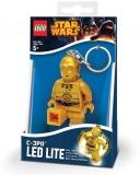Breloc cu lanterna C-3PO LGL-KE18 LEGO Star Wars