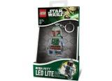 Breloc cu lanterna Boba Fett LGL-KE19 LEGO Star Wars
