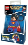 Breloc cu lanterna Superman LGL-KE39 LEGO DC Super Heroes