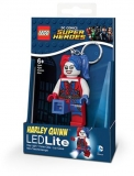Breloc cu lanterna Harley Quinn LGL-KE99 LEGO DC Super Heroes