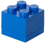Mini cutie depozitare 40111731 LEGO 2x2 albastru inchis