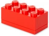 Mini cutie depozitare 40121730 LEGO 2x4 rosu