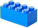 Mini cutie depozitare 40121731 LEGO 2x4 albastru inchis