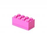 Mini cutie depozitare 40121739 LEGO 2x4 roz