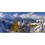 Puzzle castelul Neuschwanstein, 2000 piese Ravensburger