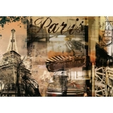 Puzzle amintiri din Paris, 1000 piese Ravensburger