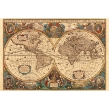 Puzzle harta antica a lumii , 5000 piese Ravensburger