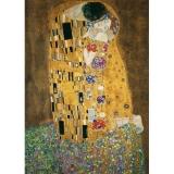 Puzzle Gustav Klimt - Sarutul, 1000 Piese Ravensburger