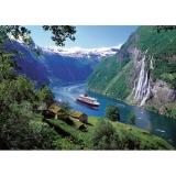Puzzle fiord norvegian, 1000 piese Ravensburger