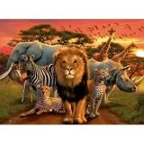 Puzzle Splendoare Africana, 500 Piese Ravensburger