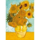 Puzzle Van gogh - vaza cu flori, 1000 piese Ravensburger