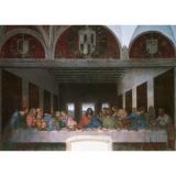 Puzzle Leonardo da vinci - cina cea de taina, 1000 piese Ravensburger