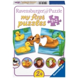 Puzzle animale adorabile, 9x2 piese Ravensburger