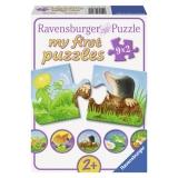 Puzzle animale de gradina, 9x2 piese Ravensburger
