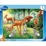 Puzzle Bambi, 8 piese Ravensburger