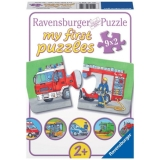 Puzzle vehicule motorizate, 9x2 piese Ravensburger