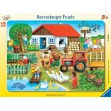 Puzzle unde sa il asez, 15 piese Ravensburger