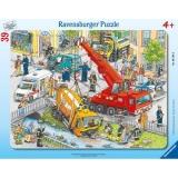 Puzzle servicii de urgenta, 39 piese Ravensburger