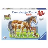 Puzzle cai veseli, 72 piese Ravensburger