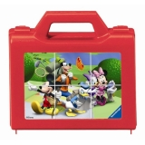 Puzzle clubul Mickey Mouse, 6 piese Ravensburger