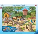 Puzzle la zoo, 47 piese Ravensburger