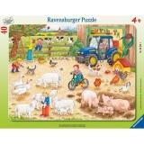 Puzzle la ferma cea mare, 40 piese Ravensburger