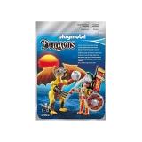 Dragonul Pietrei Cu Luptator Playmobil