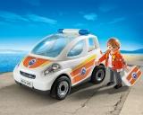 Vehiculul de urgenta a salvamarului Coast Guard Playmobil