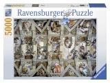 Puzzle capela sixtina, 5000 piese Ravensburger