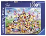 Puzzle carnavalul Disney multicolor, 1000 piese Ravensburger