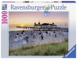 Puzzle Marea Baltica ahlbeck, usedom 1000 piese Ravensburger