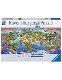 Puzzle Minunile Lumii, 2000 Piese Ravensburger