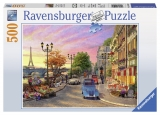 Puzzle o seara in Paris 500 piese Ravensburger