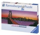 Puzzle podul Oakley Bay, San Francisco 1000 piese Ravensburger