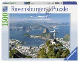 Puzzle vedere din Rio, 1500 piese Ravensburger
