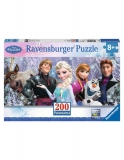 Puzzle Frozen Panorama Inghetata, 200 Piese Ravensburger