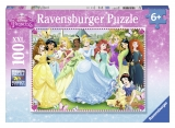 Puzzle printesele Disney 100p Ravensburger