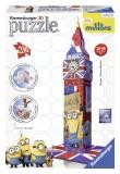 Puzzle 3D Big Ben minions, 216 piese Ravensburger