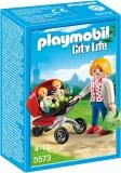 Carucior cu gemeni Preschool Playmobil