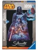 Puzzle Star Wars - Silueta, 1000 Piese Ravensburger