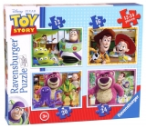 Puzzle Disney Toy story, 4 buc in cutie, 12/16/20/24 piese Ravensburger