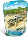 Aligator cu pui City Life Zoo Playmobil