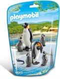 Familie de pinguini City Life Zoo Playmobil