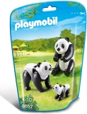 Familie de ursi panda City Life Zoo Playmobil