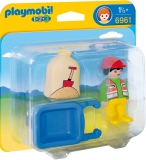 Muncitor cu roaba 1.2.3 Playmobil
